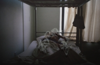 Sleepy Bed (New York Hostel 1)